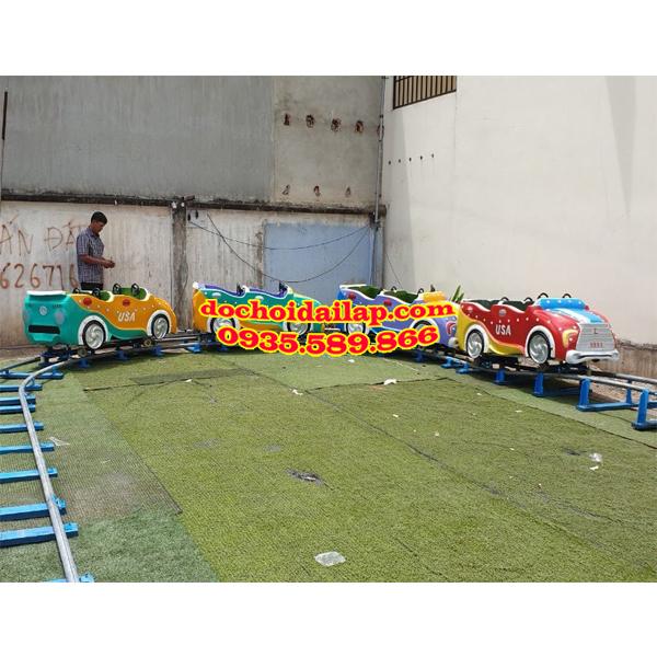 Sản phẩm xe lửa điện của công ty đồ chơi Đại Lập